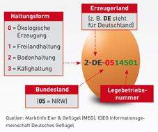 Der Eier-Stempel-Code